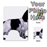 English Setter Full Multi-purpose Cards (Rectangle)  Back 2