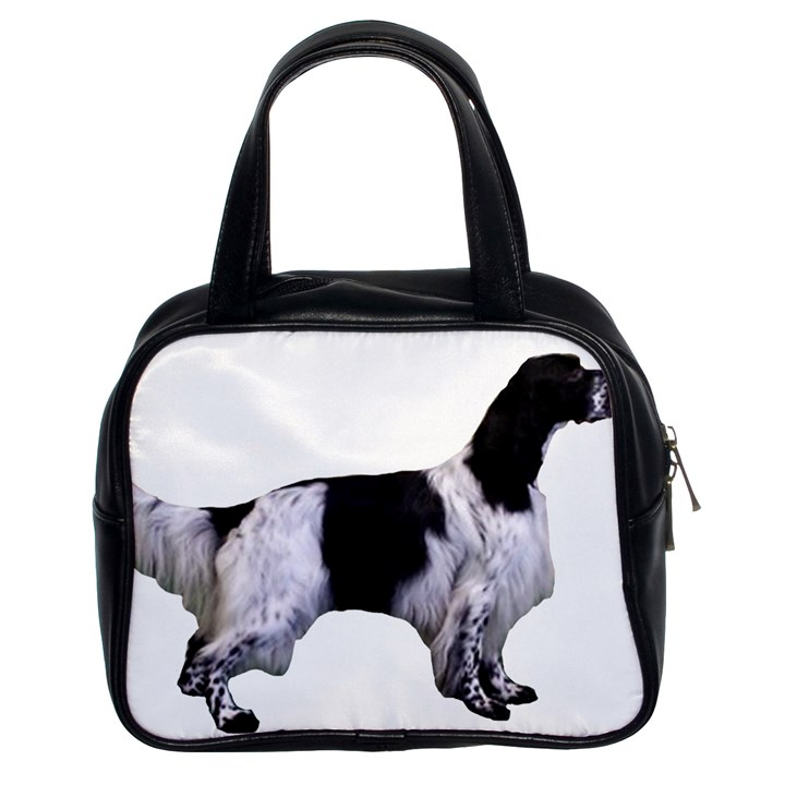 English Setter Full Classic Handbags (2 Sides)