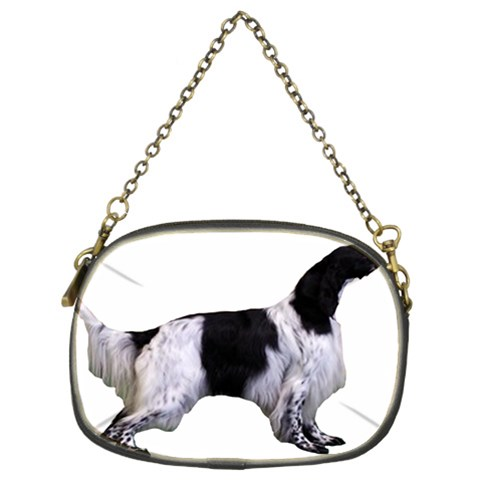 English Setter Full Chain Purses (Two Sides)