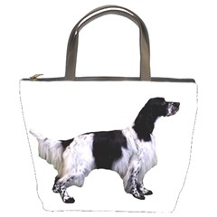 English Setter Full Bucket Bags