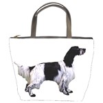 English Setter Full Bucket Bags Front