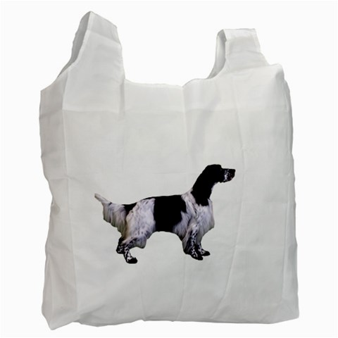 English Setter Full Recycle Bag (One Side)