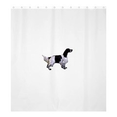 English Setter Full Shower Curtain 66  x 72  (Large)