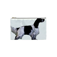 English Setter Full Cosmetic Bag (Small)