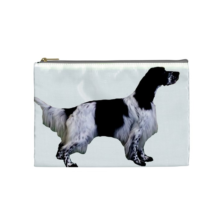 English Setter Full Cosmetic Bag (Medium)