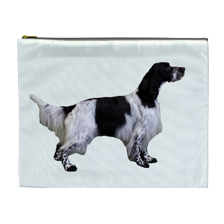 English Setter Full Cosmetic Bag (XL)