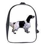 English Setter Full School Bags(Large)  Front