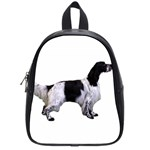 English Setter Full School Bags (Small)  Front