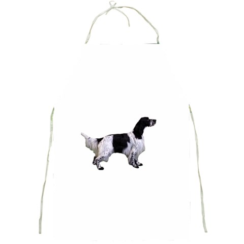 English Setter Full Full Print Aprons