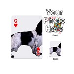 English Setter Full Playing Cards 54 (Mini)  Front - HeartQ