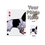English Setter Full Playing Cards 54 (Mini)  Front - DiamondA