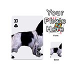 English Setter Full Playing Cards 54 (Mini)  Front - Club10