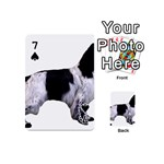 English Setter Full Playing Cards 54 (Mini)  Front - Spade7
