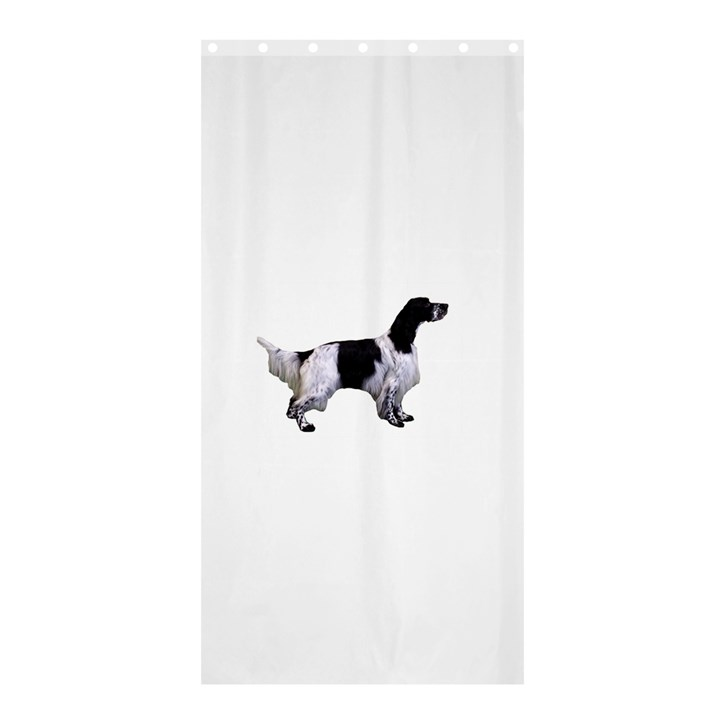 English Setter Full Shower Curtain 36  x 72  (Stall)