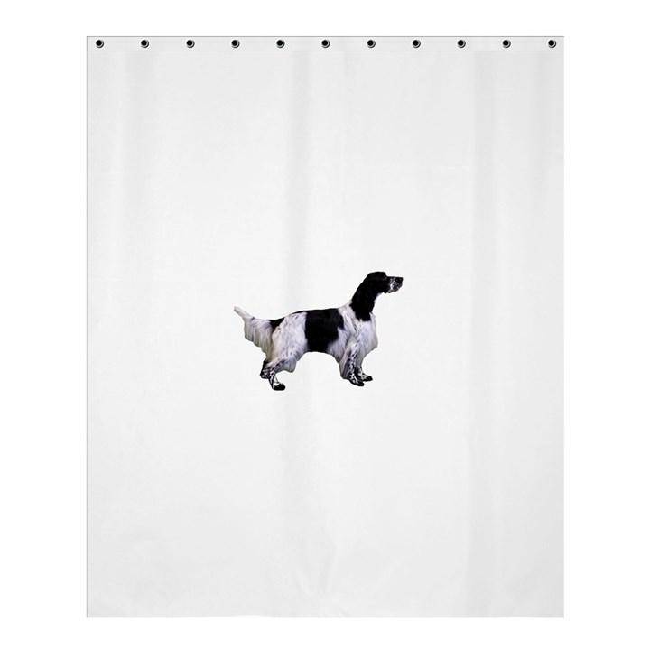English Setter Full Shower Curtain 60  x 72  (Medium)