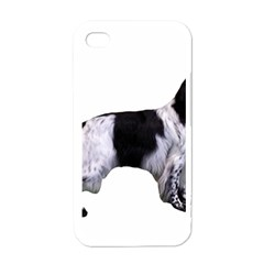 English Setter Full Apple Iphone 4 Case (white)