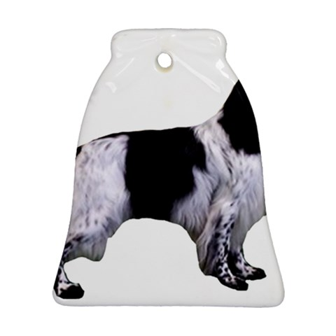 English Setter Full Ornament (Bell)