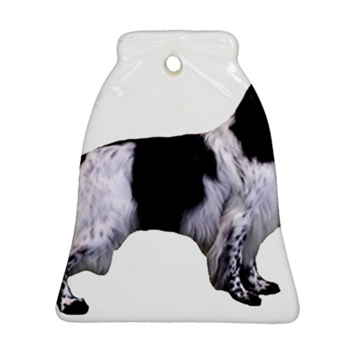 English Setter Full Bell Ornament (2 Sides)