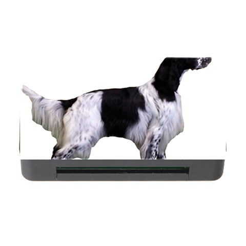 English Setter Full Memory Card Reader with CF