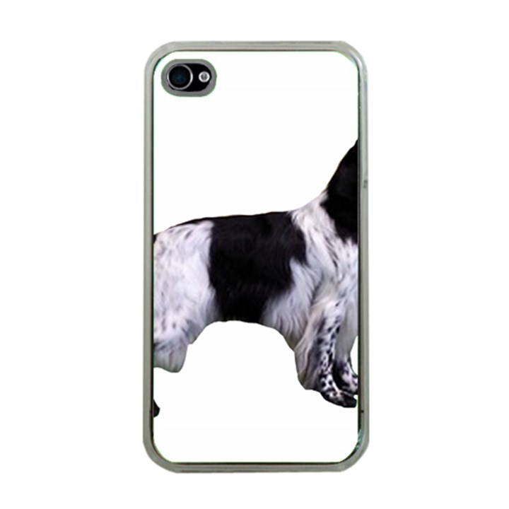 English Setter Full Apple iPhone 4 Case (Clear)