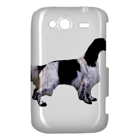 English Setter Full HTC Wildfire S A510e Hardshell Case