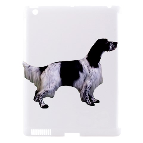 English Setter Full Apple iPad 3/4 Hardshell Case (Compatible with Smart Cover)