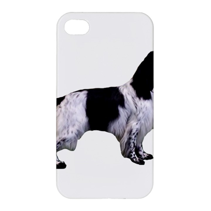English Setter Full Apple iPhone 4/4S Premium Hardshell Case