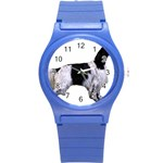 English Setter Full Round Plastic Sport Watch (S) Front