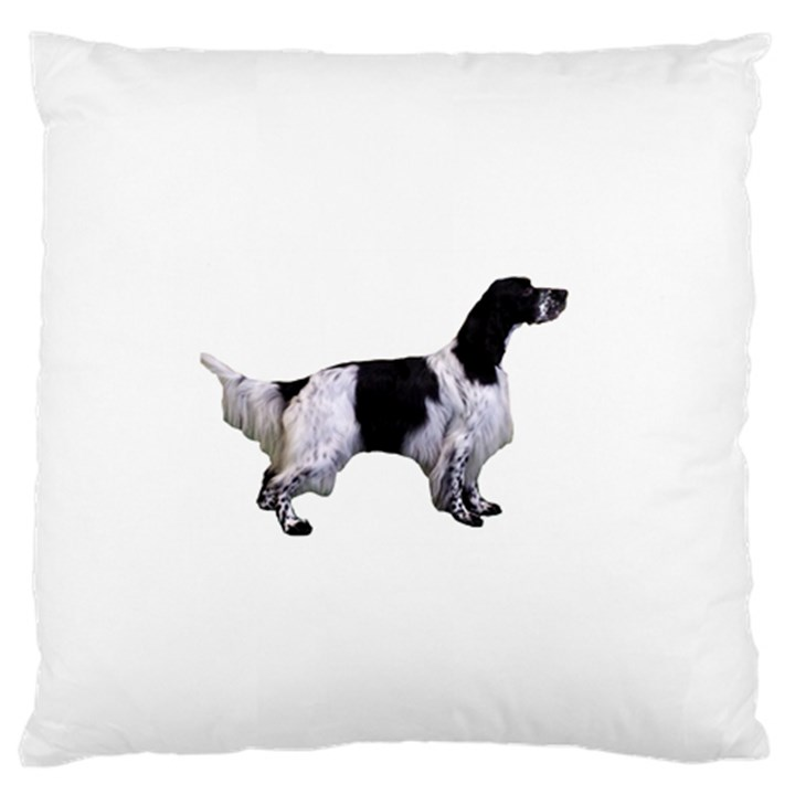 English Setter Full Large Cushion Case (Two Sides)
