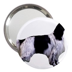 English Setter Full 3  Handbag Mirrors