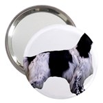 English Setter Full 3  Handbag Mirrors Front