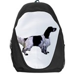 English Setter Full Backpack Bag Front