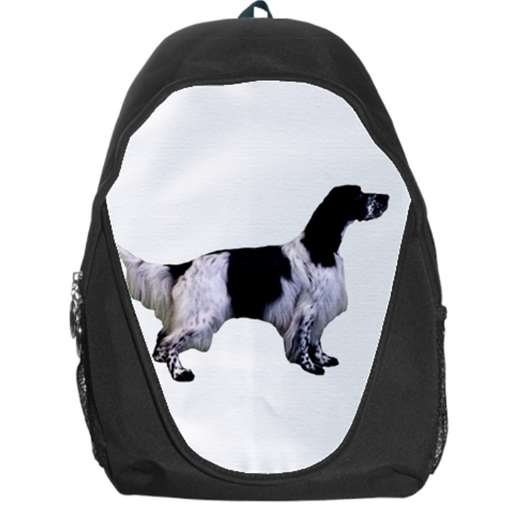 English Setter Full Backpack Bag