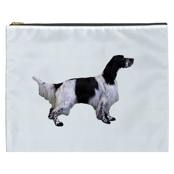 English Setter Full Cosmetic Bag (XXXL)