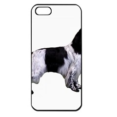 English Setter Full Apple iPhone 5 Seamless Case (Black)