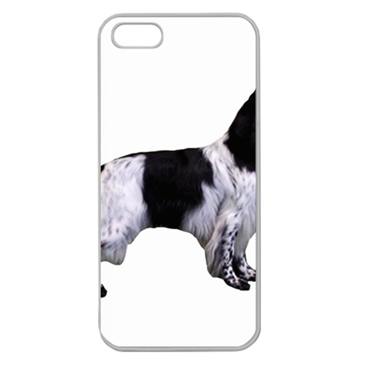 English Setter Full Apple Seamless iPhone 5 Case (Clear)