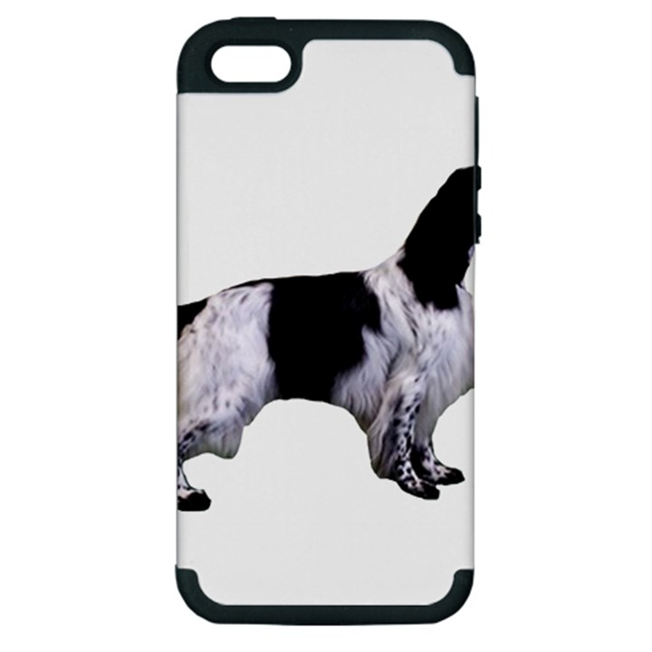 English Setter Full Apple iPhone 5 Hardshell Case (PC+Silicone)