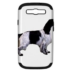 English Setter Full Samsung Galaxy S III Hardshell Case (PC+Silicone)