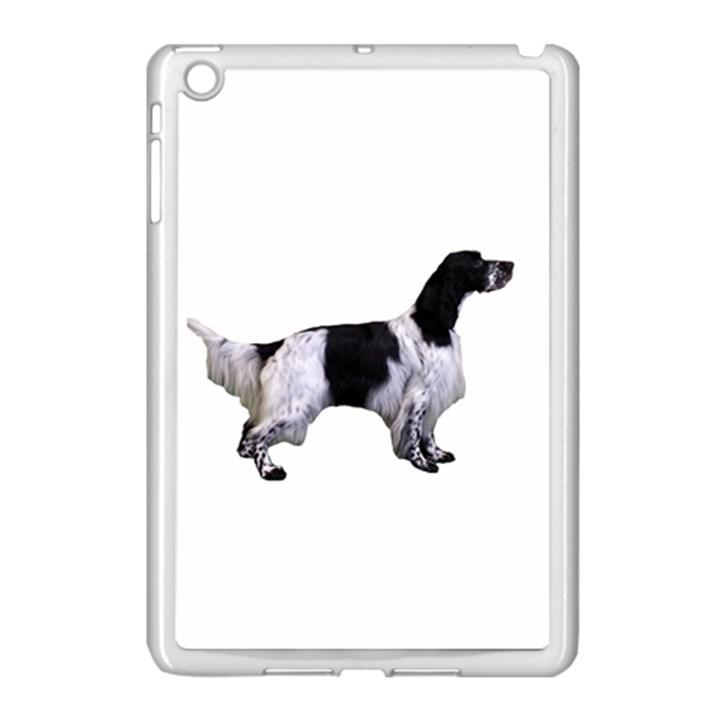 English Setter Full Apple iPad Mini Case (White)
