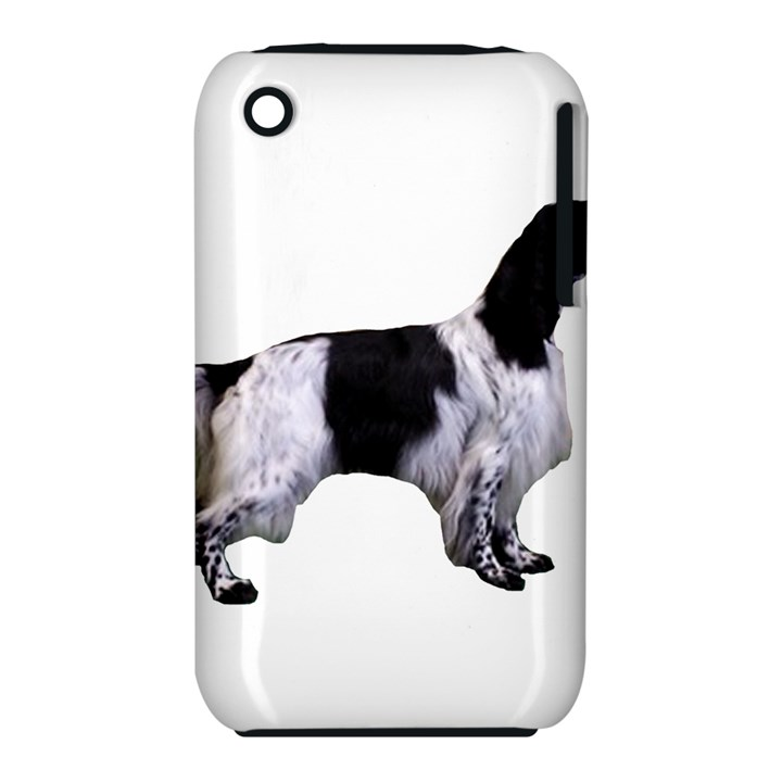 English Setter Full Apple iPhone 3G/3GS Hardshell Case (PC+Silicone)