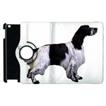 English Setter Full Apple iPad 2 Flip 360 Case Front