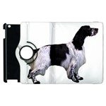 English Setter Full Apple iPad 3/4 Flip 360 Case Front