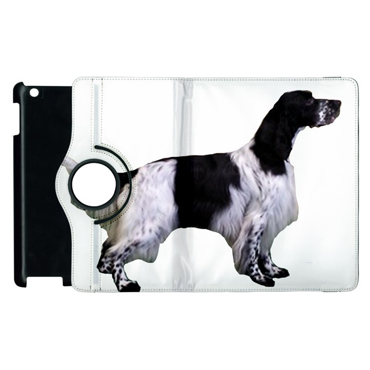 English Setter Full Apple iPad 3/4 Flip 360 Case