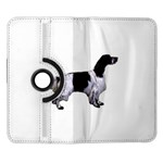 English Setter Full Samsung Galaxy Note II Flip 360 Case Front