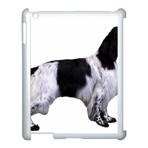 English Setter Full Apple iPad 3/4 Case (White)