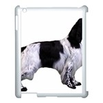 English Setter Full Apple iPad 3/4 Case (White) Front