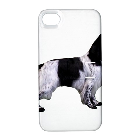 English Setter Full Apple iPhone 4/4S Hardshell Case with Stand