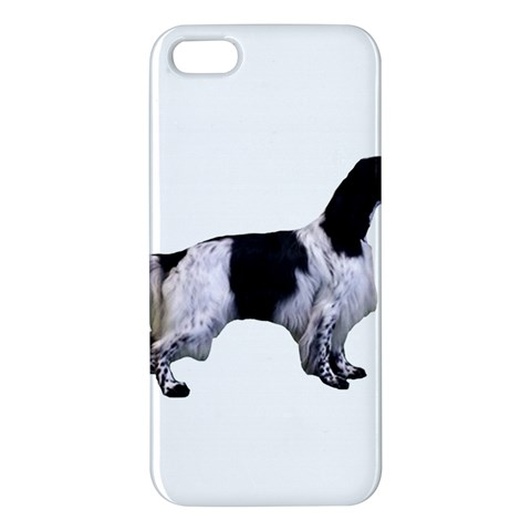English Setter Full Apple iPhone 5 Premium Hardshell Case