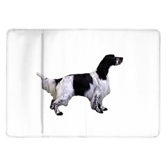 English Setter Full Samsung Galaxy Tab 10.1  P7500 Flip Case