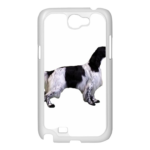English Setter Full Samsung Galaxy Note 2 Case (White)